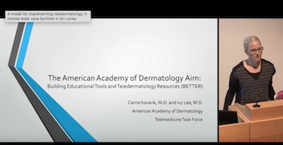 The American Academy Of Dermatology Aim: Building Educational Tools And Teledermatology Resources( BETTER )