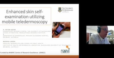 Enhanced Skin Self-examination Utilizing Mobile Teledermoscopy – Via VideolinkProf Peter Soyer, School Of Medicine, Faculty Of Medicine And Biomedical Sciences