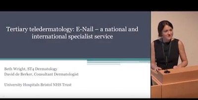 Tertiary Teledermatology : E-Nail – A National And International Specialist Service