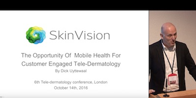 The opportunity of mobile health for customer engaged tele dermatology