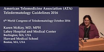 American Telemedicine Association Teledermatology Guidelines 2016