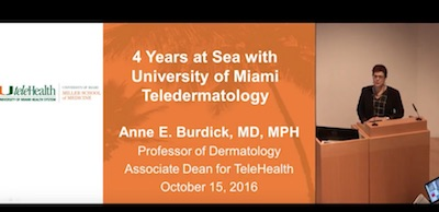 4 Years at Sea with University of Miami Teledermatology