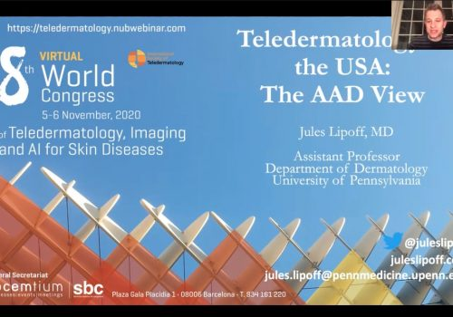 Teledermatology In USA: Tha AAD View