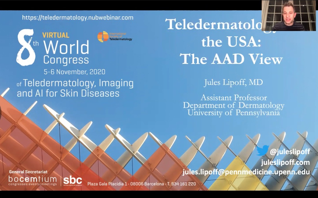 Teledermatology in USA: Tha AAD View