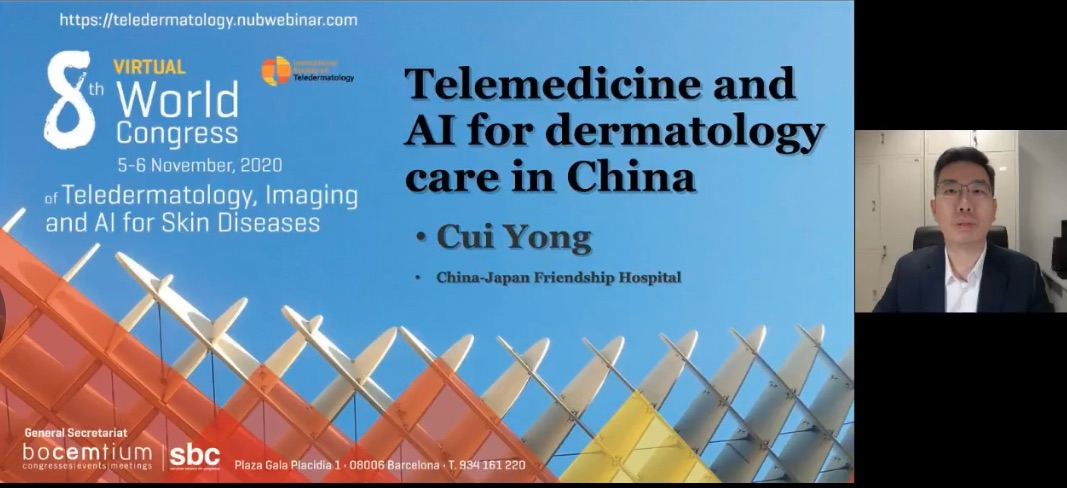 Telemedicine and AI for dermatology care in China