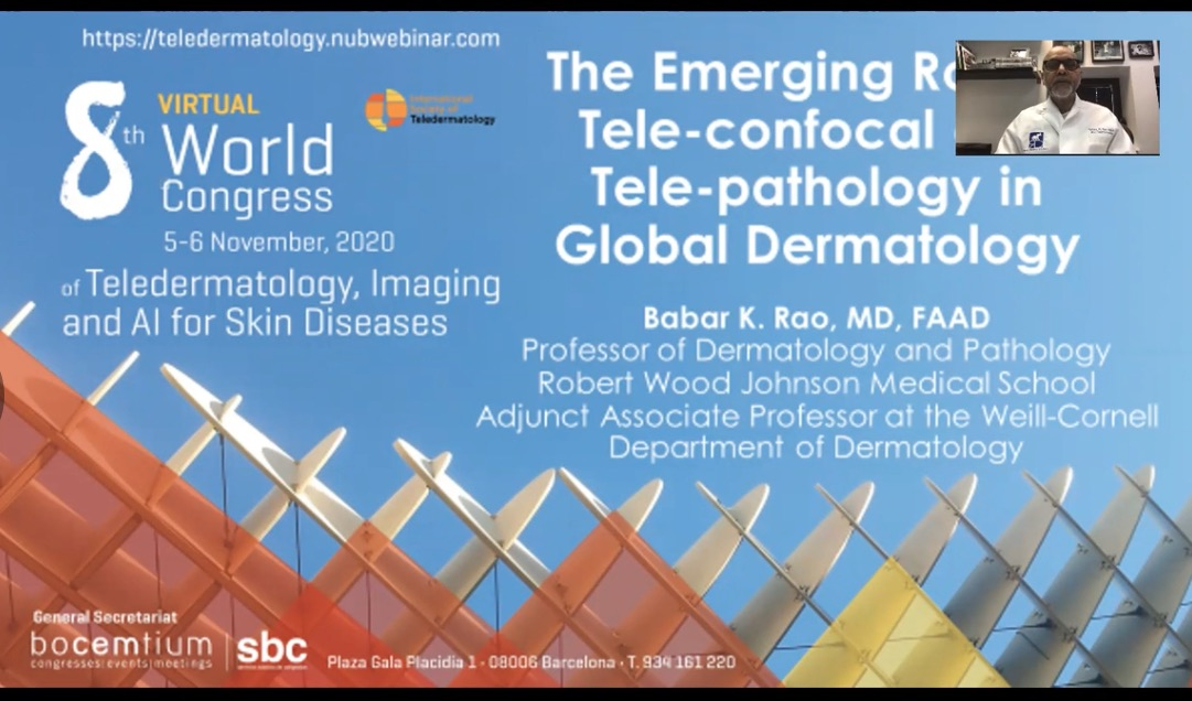The emerging role of tele-confocal and tele-pathology in global dermatology