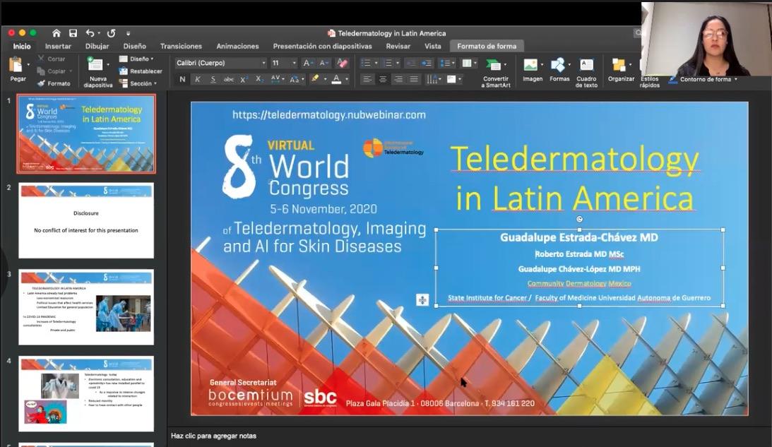 Teledermatology in Latin-America